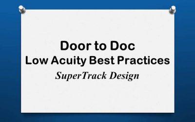 Door to Doc: SuperTrack Design