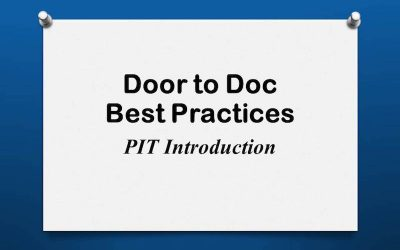 Door to Doc: PIT Introduction