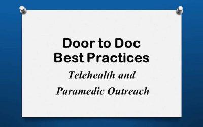 Door to Doc: Telehealth & Paramedic Outreach