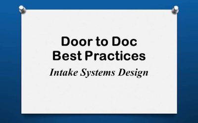 Door to Doc: Intake Systems Design