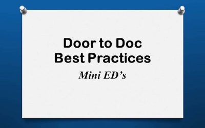 Door to Doc: Mini ED's