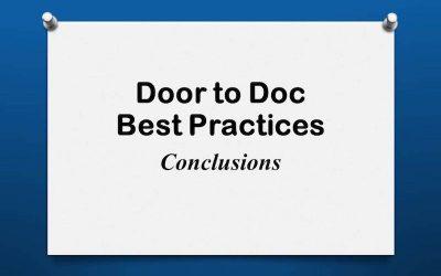 Door to Doc: Conclusions