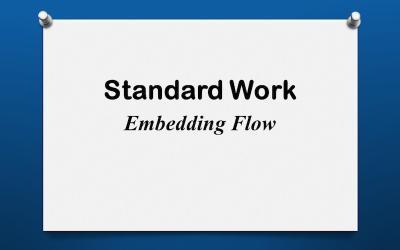 Standard Work: Embedding Flow