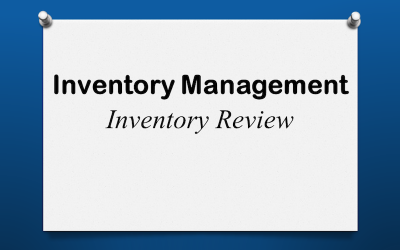 Inventory Review