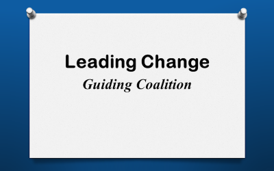 Leading Change: Guiding Coalition