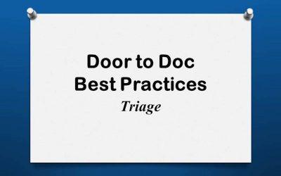 Door to Doc: Triage